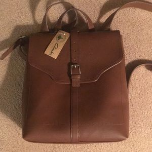CLARK CHOCOLATE BROWN  BACK PACK